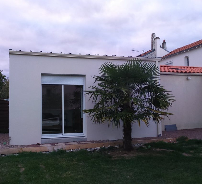 Extension traditionnelle ma maison acv for Extension parpaing