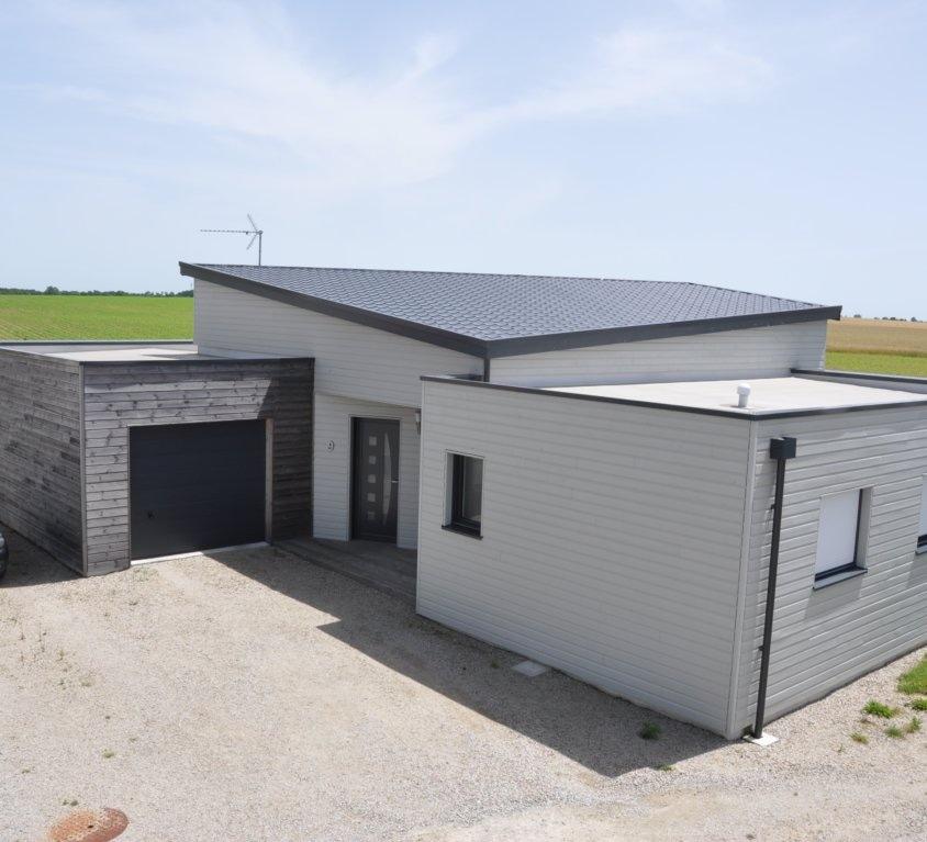 Maison bois de 114 m² à Saint Sulpice le Verdon (Vendée, 85)