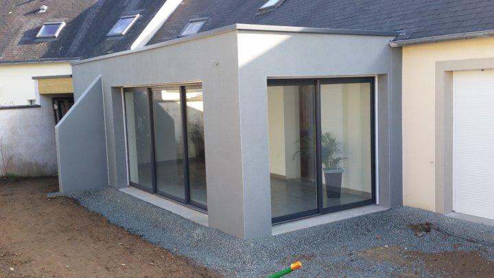 extension parpaing nantes ma maison acv. Black Bedroom Furniture Sets. Home Design Ideas