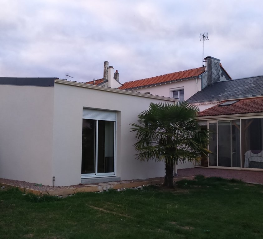 Nos r alisations ma maison acv for Extension parpaing