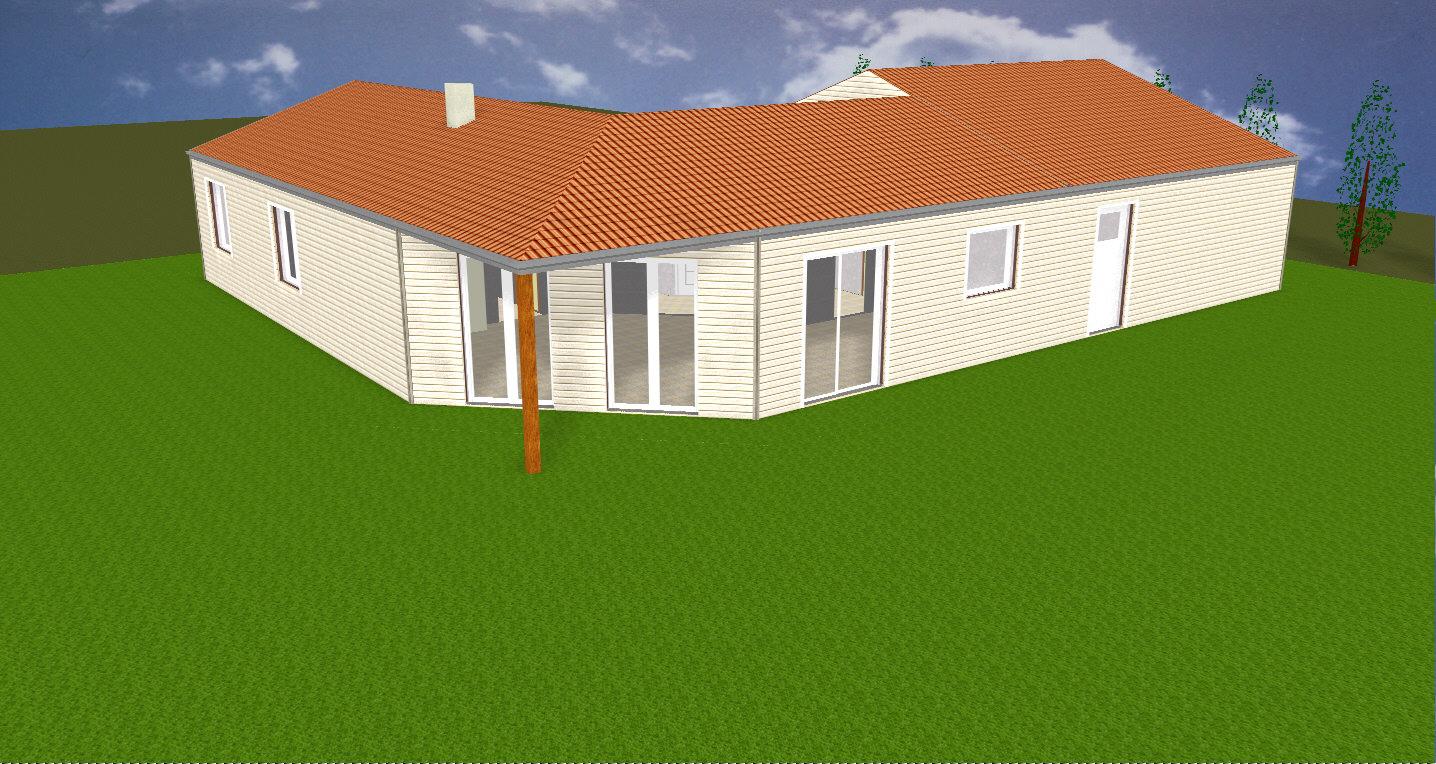 maison bois à dompierre sur yon - ma maison acv