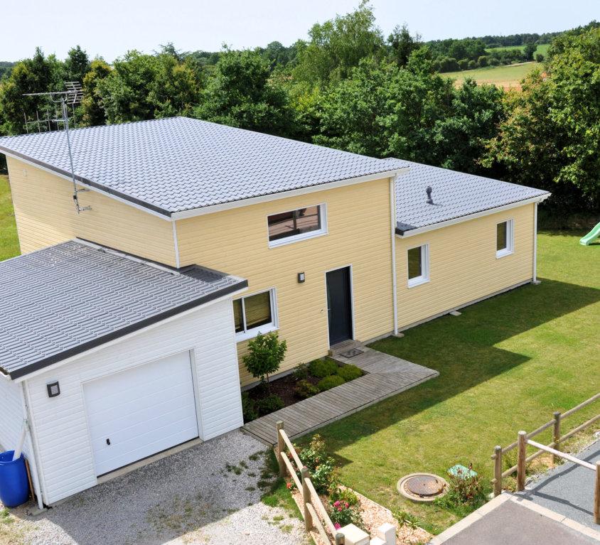 Maison bois de 124 m² à La Génétouze (Vendée, 85)