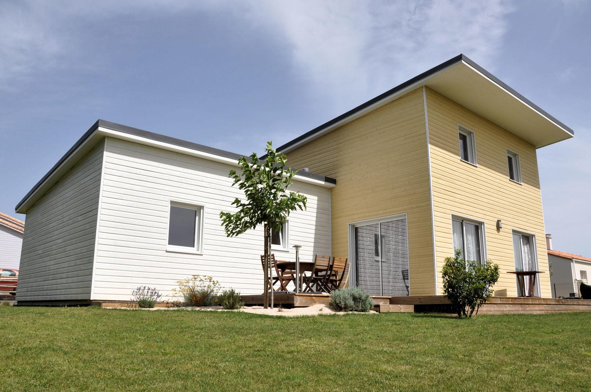 maison bois à la génétouze - ma maison acv