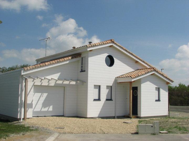 Maison bois notre dame de monts ma maison acv for Construction maison en bois vendee