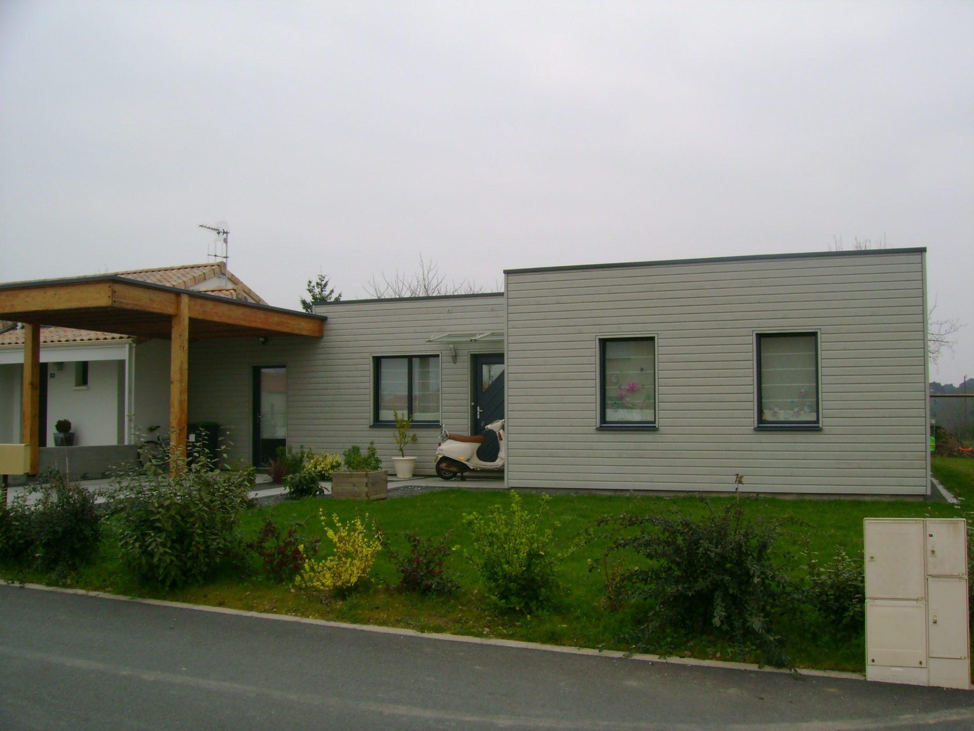 maison bois à cugand (vendée, 85) - ma maison acv