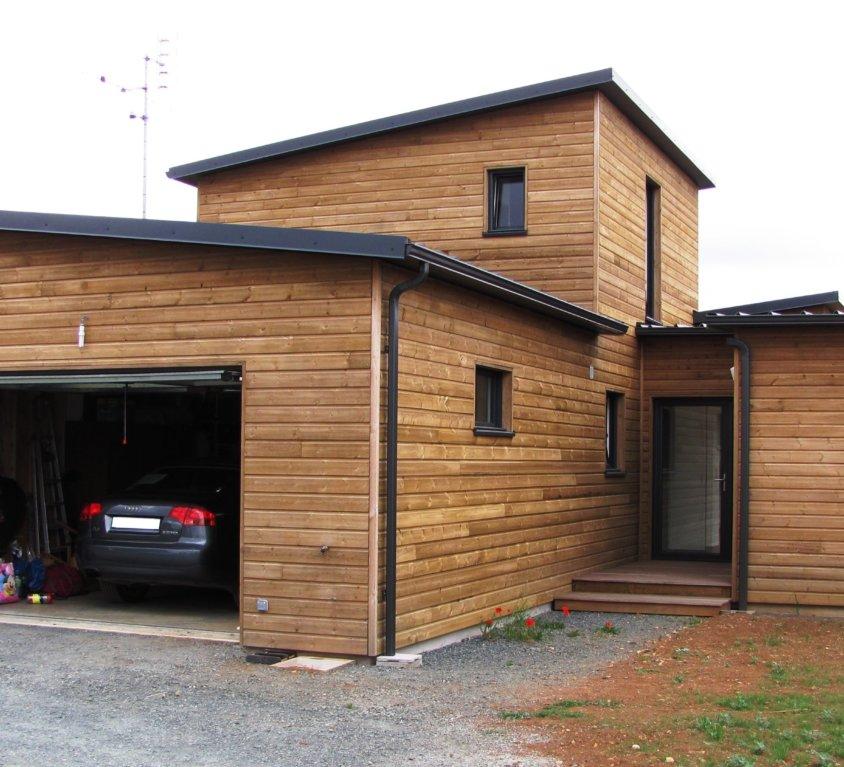 Maison bois de 130 m² à La Chapelle Thémer (Vendée, 85)