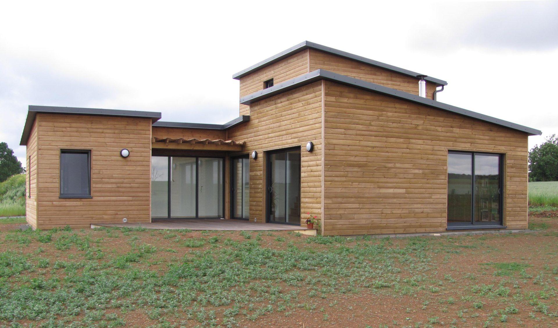 maison bois à la chapelle thémer - ma maison acv
