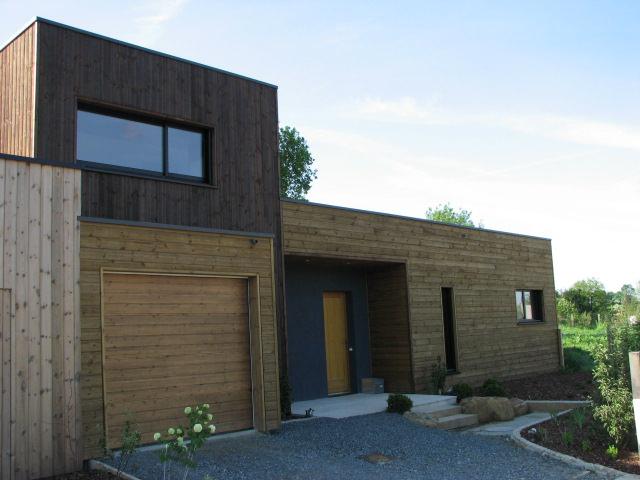 Maison bois aux herbiers ma maison acv for Construction maison en bois vendee