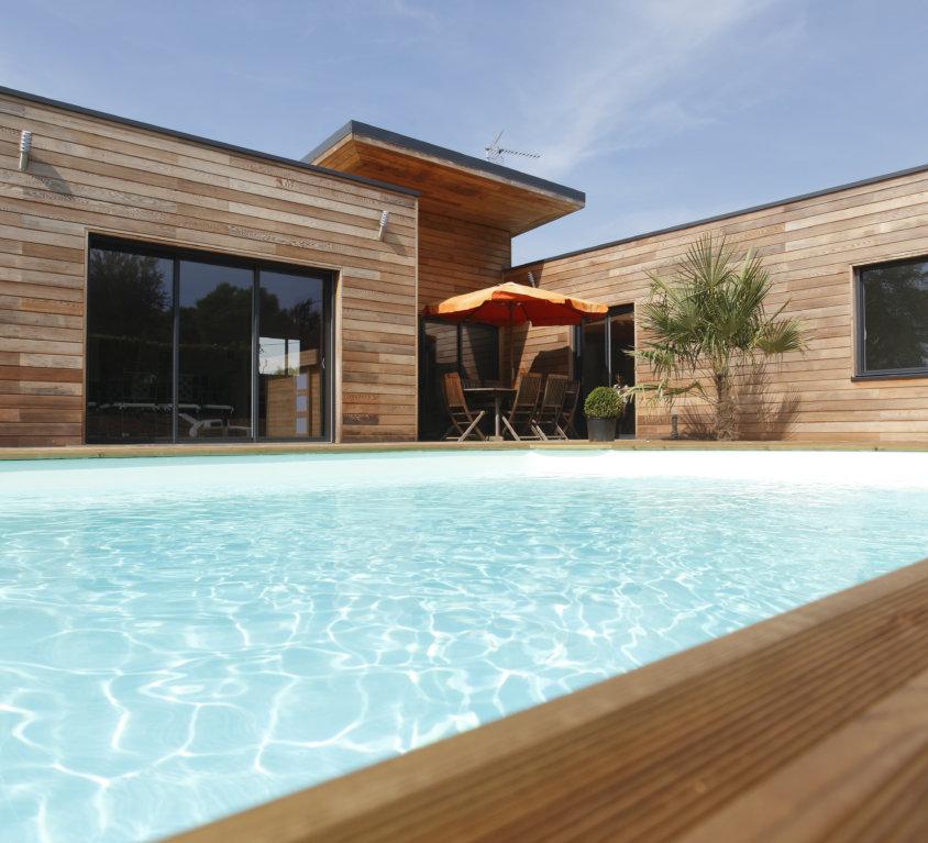 Maison bois de 152 m² à Pissotte (Vendée, 85)