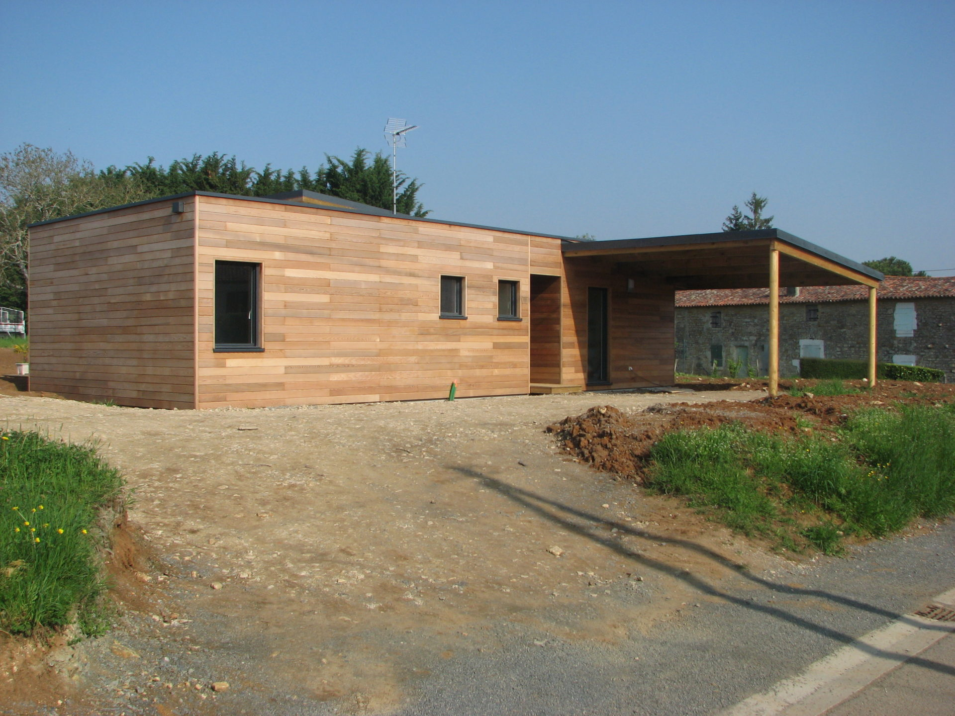 maison bois à pissotte - ma maison acv