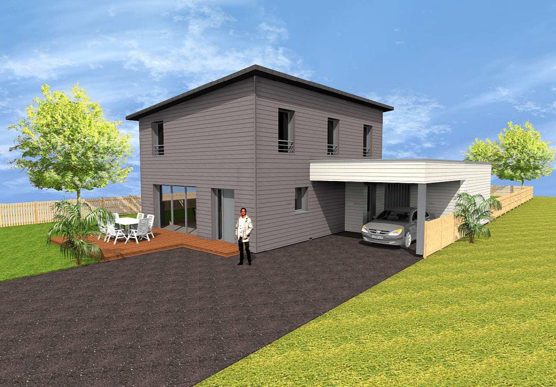 maison bois à gorges (loire atlantique) - ma maison acv