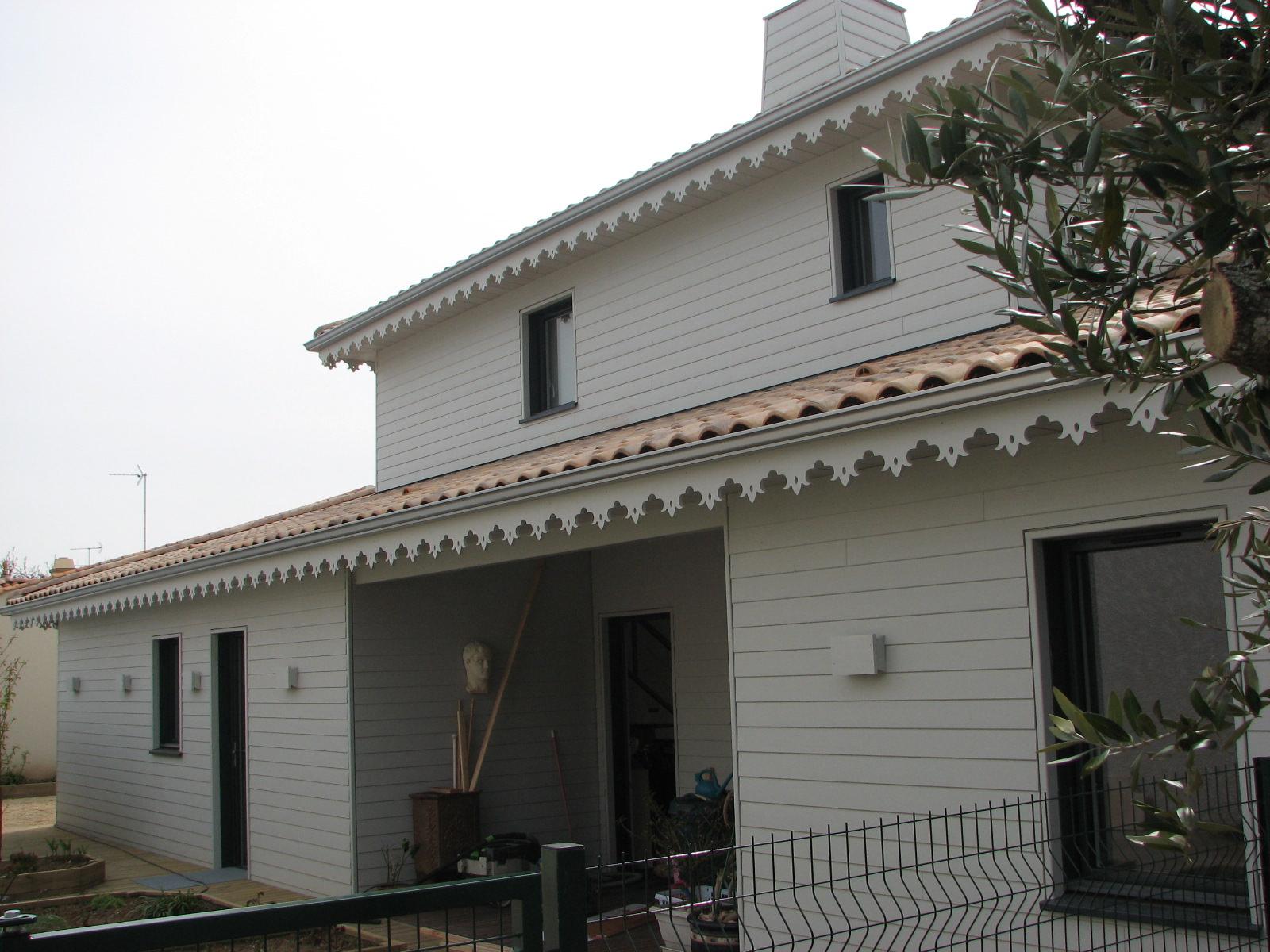 maison bois à luçon - ma maison acv