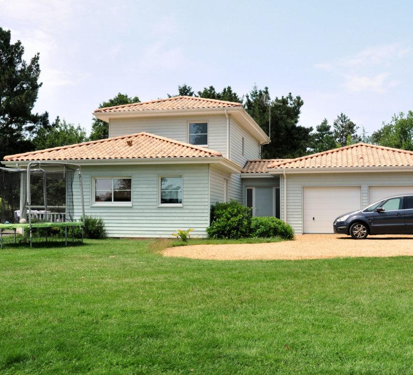 Maison et extension bois de 198 m² à Dompierre sur Yon (Vendée, 85)