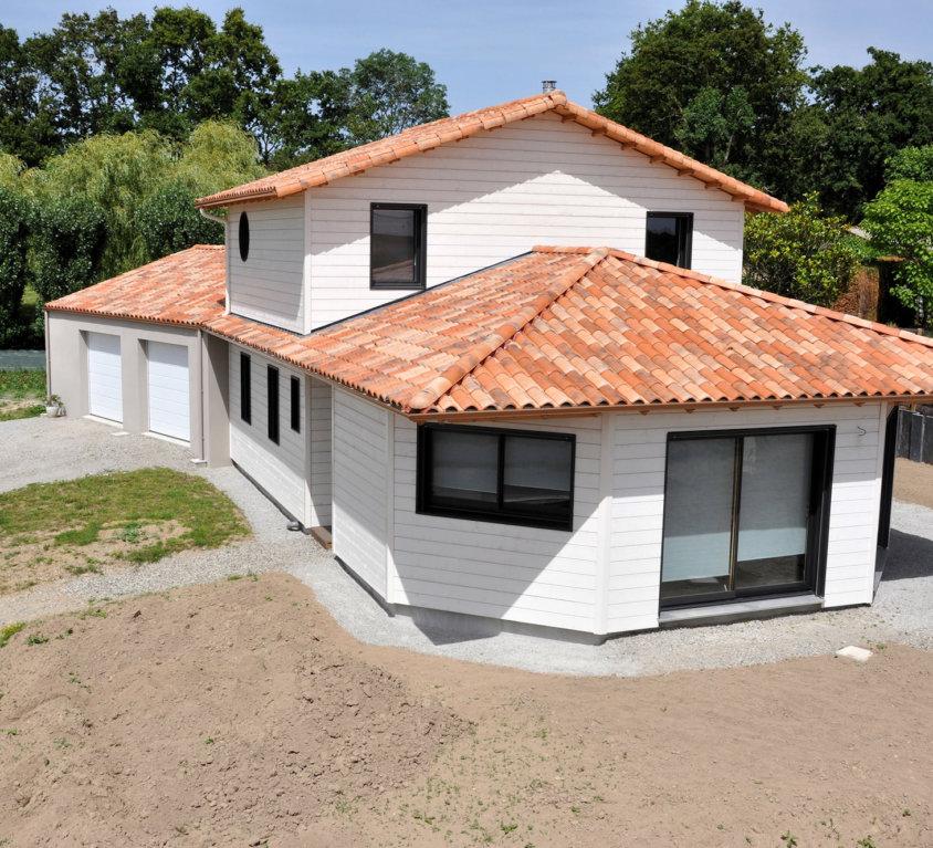 Maison à ossature mixte de 149 m² à La Roche sur Yon (Vendée, 85)